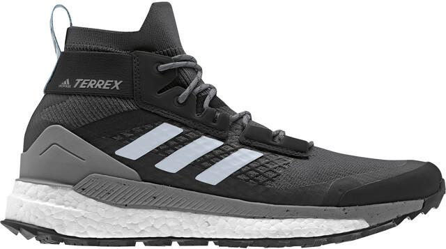 adidas TERREX Free Hiker Wandelschoenen Lightweight Dames,  carbon/carbon/ash grey